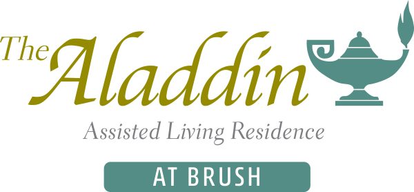 The Aladdin at Brush- Logo
